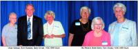 Vivian Maheau, Buzz Bussiere & Betty Corvan 1500-1999 hours; Rie Richard, Bobbi Eaton & Fern Cloutier 1000-1499 hours