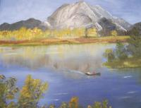 Continuing a life long passion with oil painting, Sylvia Casey captures the grandour of nature and the memories of her life.