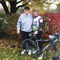 Linda Sweeney is on a journey to ride 100 miles for her Uncle Jack who just passed away of Lymphoma 
