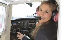 Testing her own limits and exploring new avenues, MUHS senior Erin Connor has earned her wings as a single engine land private pilot as a student in the VAST Program through Vermont Technical College and the Flight Academy.