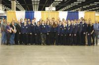Vermont FFA members at the National FFA Convention in Indianapolis, IN in October 2012.