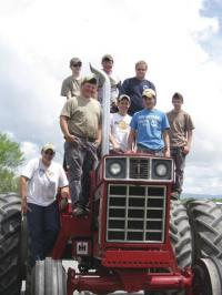 More than just an impressive site, Vermont farm equipment tells the story of the needs and costs associated with being a farmer in Addison County and across the nation.