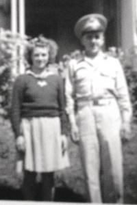 "Buster was headed for World War II, but he wrote home to ""his girl"", one letter a day for one year, eight months, and eight days. Upon returning home the two joined in a marriage that is 67 years strong."