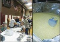1400 volunteers in Addison and Chittenden County packed 363,636 meals to send overseas to children in need.