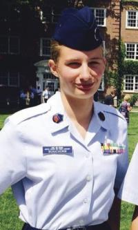 With a passion for science, flight and aerospace, VUHS sophomore Alyse Beauchemin and her corp members find the Civil Air Patrol a place to learn, grow, and acquire skills for future careers in science and as community leaders.