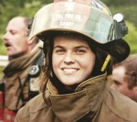 Great Grand-daughter Delaynah is the third generation of Smith's serving others in the Bristol Fire Department.