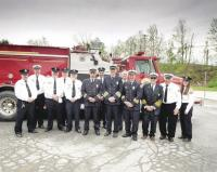 Where fifty years has gone, no one is certain, but every member of the New Haven Fire Department was happy to celebrate the special anniversary and looks forward to the next 50 years of serving the community.