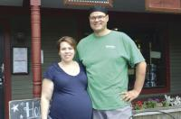 Jen and Adam Shafer welcome you to SHAFER'S a new Market and Deli in Middlebury.