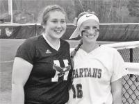 Cousins Tamara & Taylor meet on the field as college players.