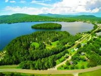 Island Pond, Vermont is a favorite location of James!