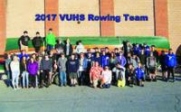 VUHS Rowing Team is 55 members strong!