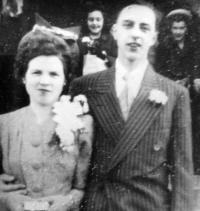 With love at first sight, Olin Flynn met and married Eunice Stevens in 1946. To this day Olin wishes he could go back and sign on for 67 more wonderful years with the love of his life.