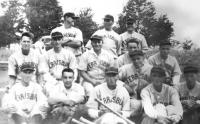 This Ferrisburgh Town Team included a very young Olin, his father and an uncle and cemented Olin's live long passion for baseball.