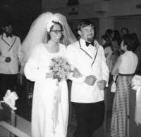 Wedding day 1973.