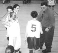 Coaching JV girls mid 80's.
